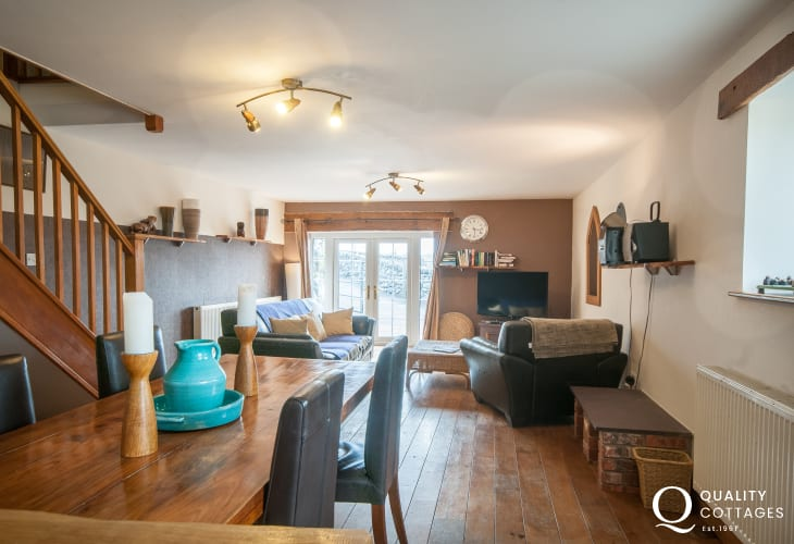 Snowdonia holiday cottage - lounge