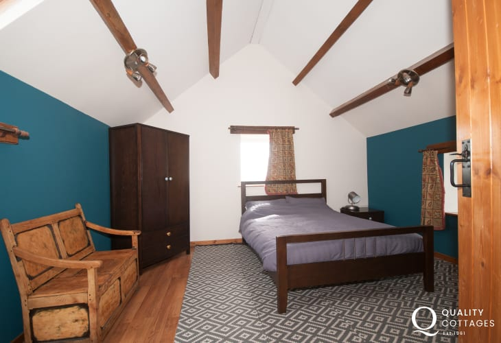 Snowdonia holiday cottage  - double bedroom