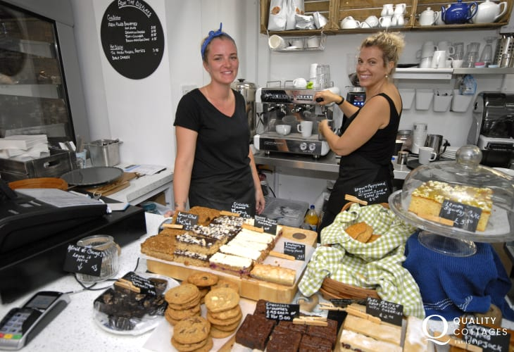 The Cornerhouse Cafe - lovely home made food, cakes and local ice cream