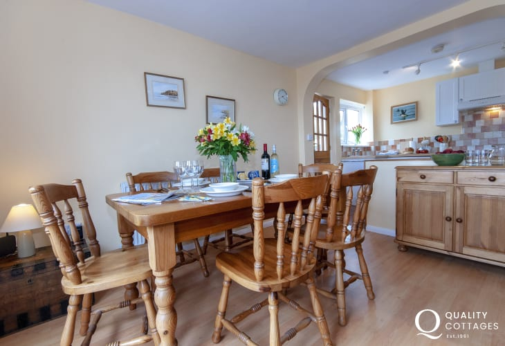 Broad Haven holiday cottage with open plan kitchen/diner