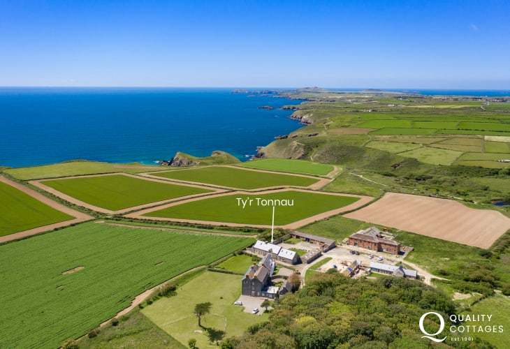Pembrokeshire Coast Path holiday home