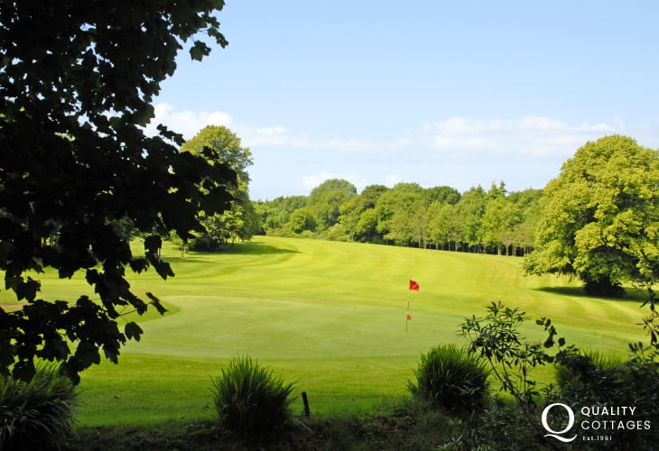 Priskilly Forest Golf Club is a challenging 9 hole course set in magnificent parkland