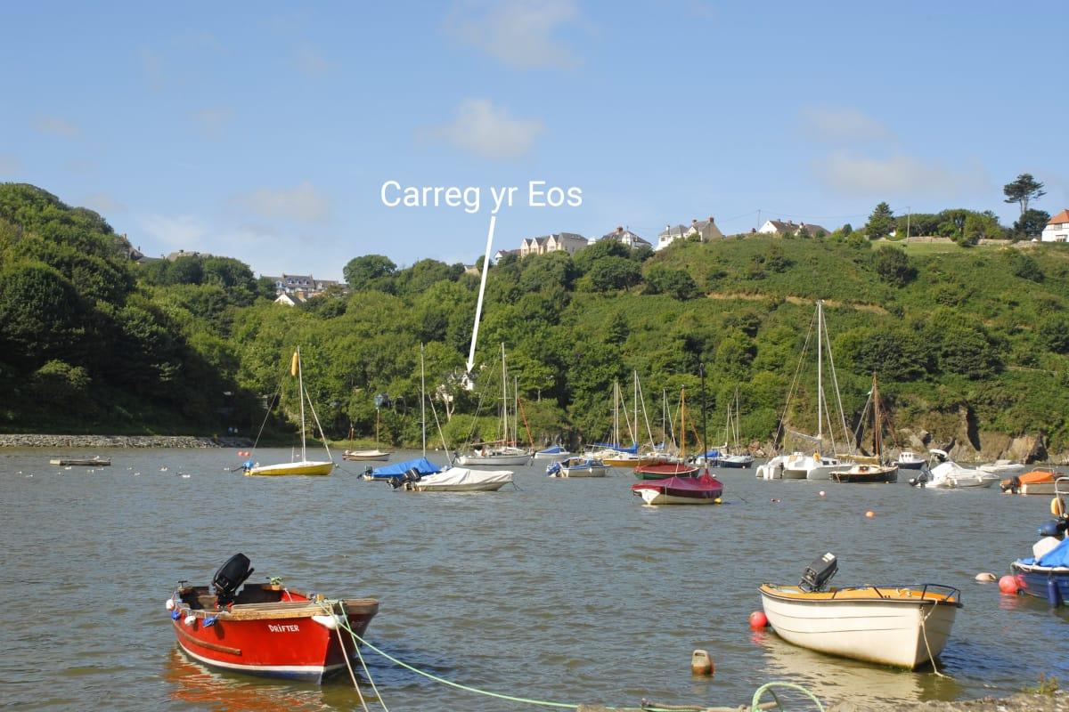 Carreg yr Eos in Fishguard