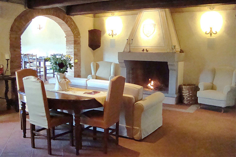 Living Room, La Verdeggiante, Cantagrillo, Tuscany.