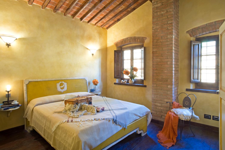 Bedroom 2, La Verdeggiante, Cantagrillo, Tuscany.