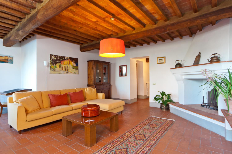 Living Area , La Pieve, Lucca, Tuscany.