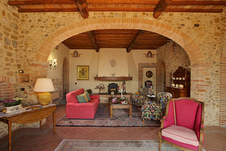 Living Room, Il Capoccio, Tavernelle val di Pesa, Tuscany.