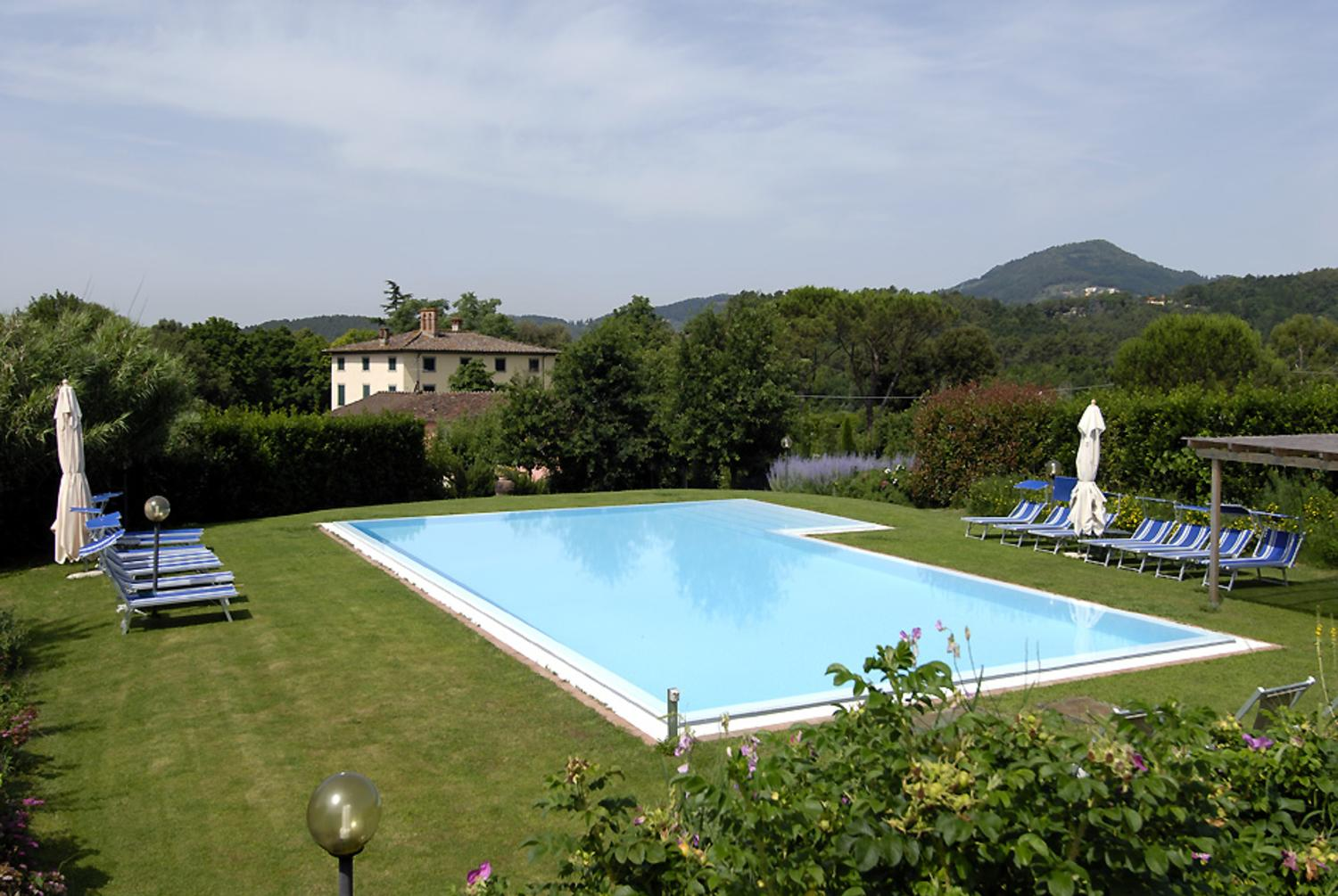 Outdoor Pool 1, Il Maniero, Lucca, Tuscany.
