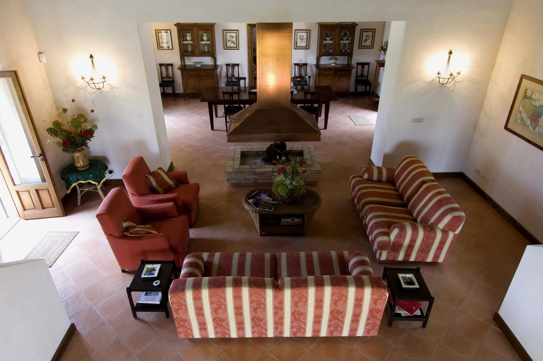 Family lounge, Casa Modica, Sicily, Modica.