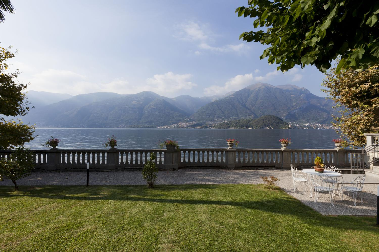Garden and Lake View , La Spiaggia, Lezzeno, Italian Lakes.