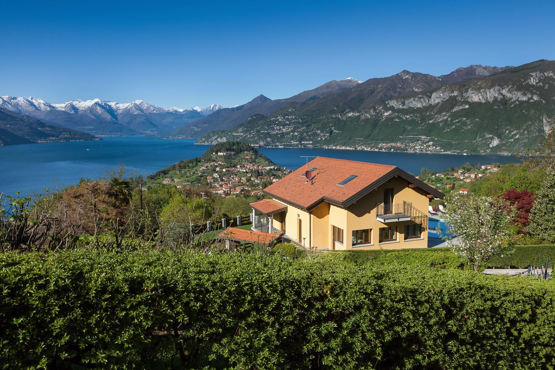 Villa Exterior, Corticella di Lago, Bellagio, Italian Lakes.