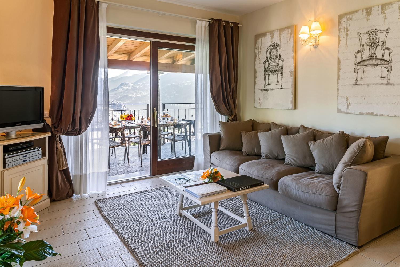 Living Room, Corticella di Lago, Bellagio, Italian Lakes.