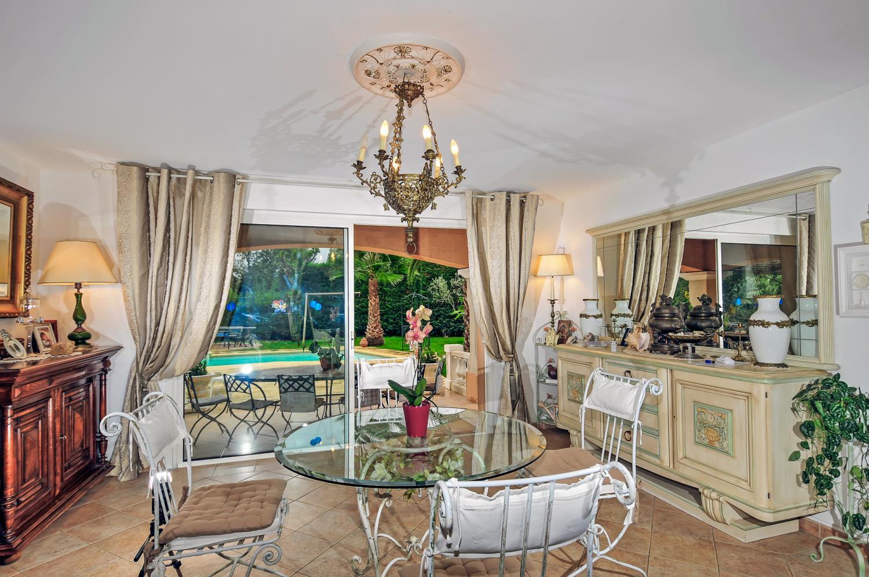 Dining Room, La Ferronnerie, Antibes, Cote d'Azur.