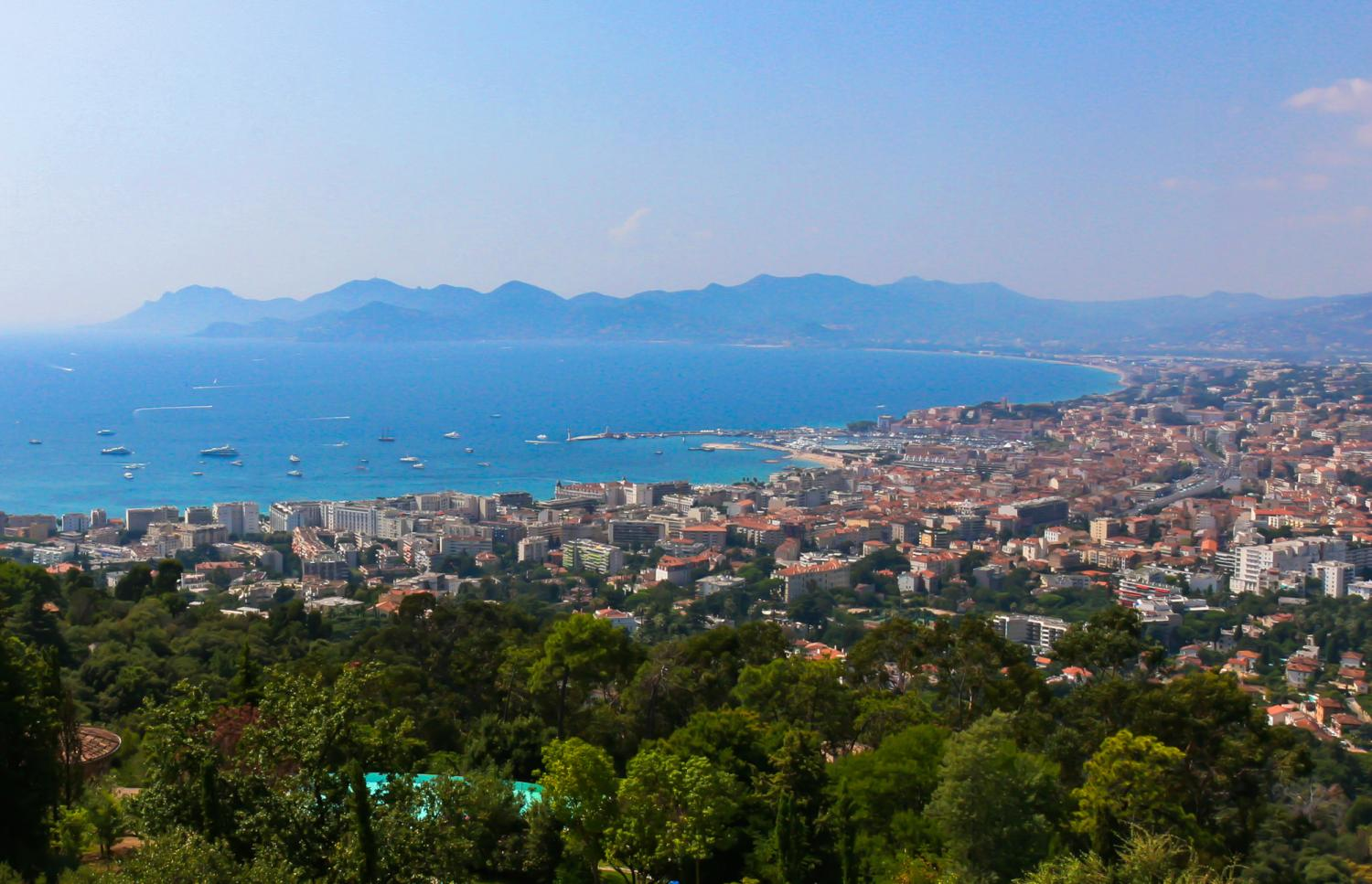 Cannes Sea Views, La Contemporaine, Cannes, Cote d'Azur.