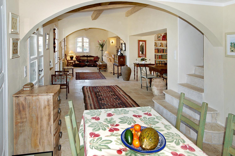 Dining Area , La Sagesse, Flayosc, Var, Provence.