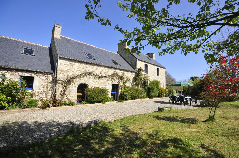 Villa Exterior, Ferme de Trez, Plouneour-trez, Brittany.
