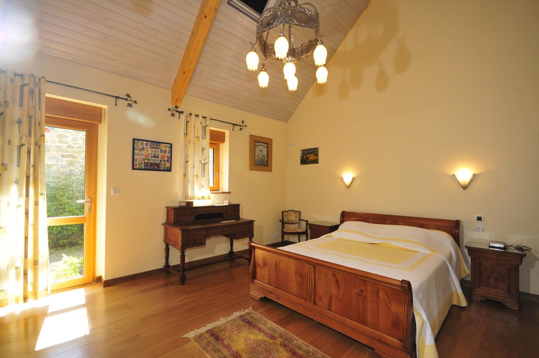 Bedroom 1, Ferme de Trez, Plouneour-trez, Brittany.