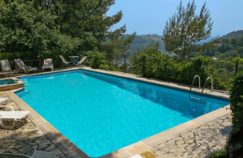 Outdoor Pool, La Bergerie, Vence, Cote d'Azur.