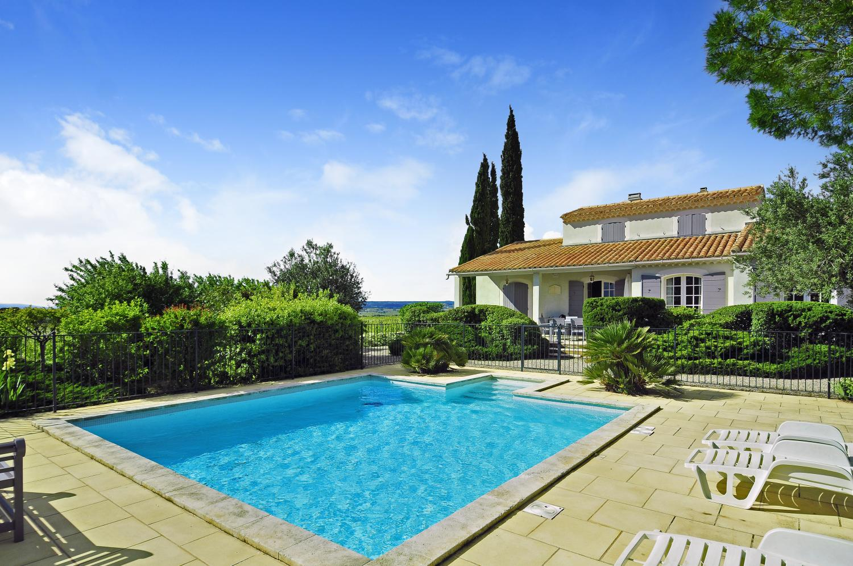 Outdoor Pool 1, Gigondas Villa, Gigondas, Provence.