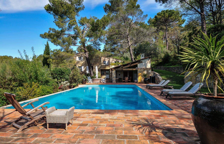 Outdoor Pool 1, La Bastide du Bois, Tourrettes, Cote d'Azur.