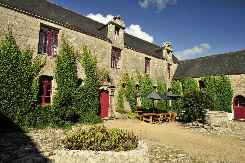 Villa exterior 1, Breton Manor Estate, Brittany, Audierne.