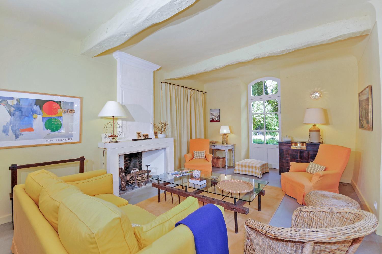 Living Room 1, Grand Luberon, Apt, Provence.
