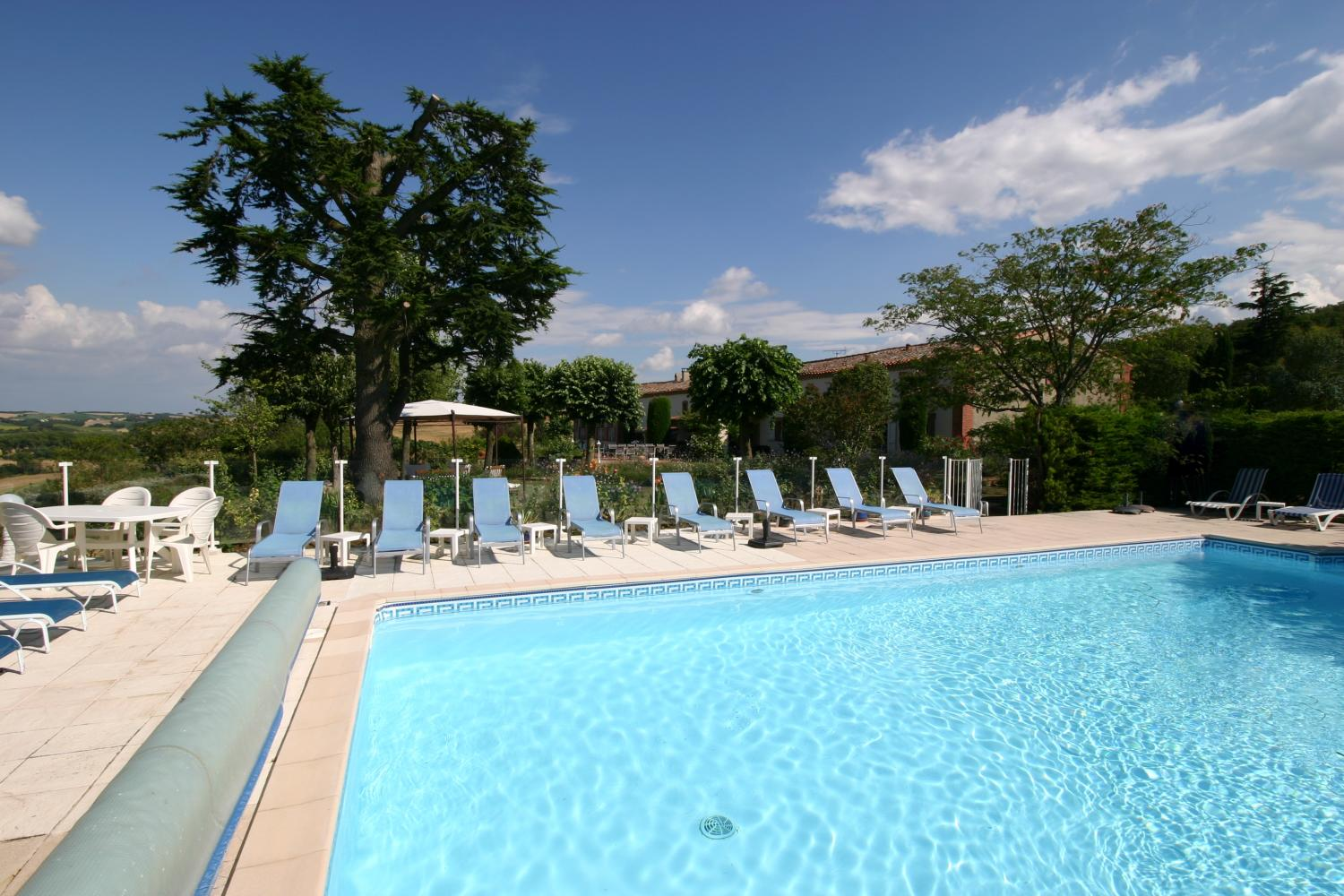 holiday accommodation Languedoc with pool