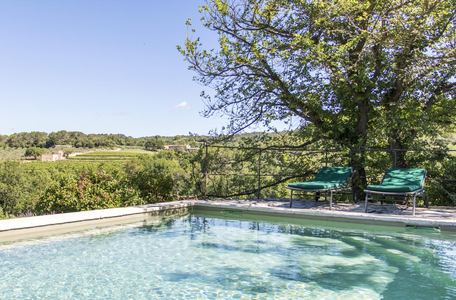 Private pool with a view, Bastide Du Charme, Provence, Lorgues.