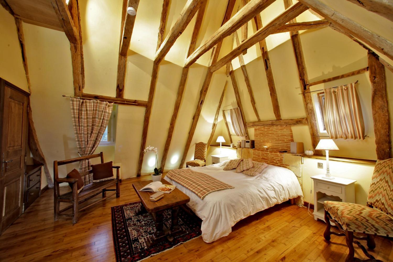 Bedroom 1, La Retraite, Nadaillac De Rouge, Dordogne.