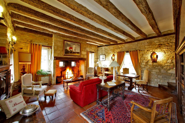 Living Room, La Retraite, Nadaillac De Rouge, Dordogne.