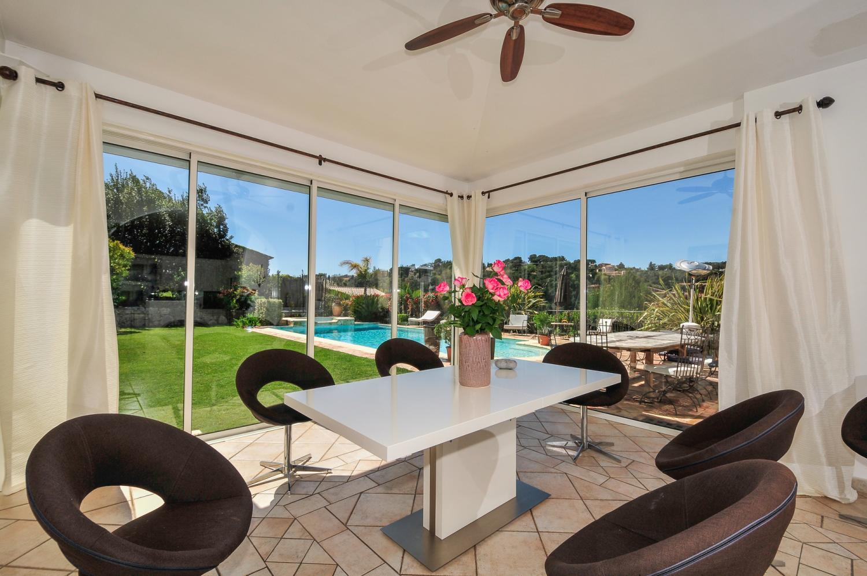 luxury biot holiday villa