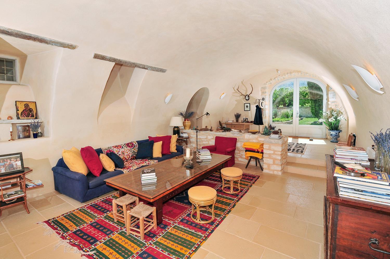 Living Room, La Gardiole, Bonnieux, Provence.