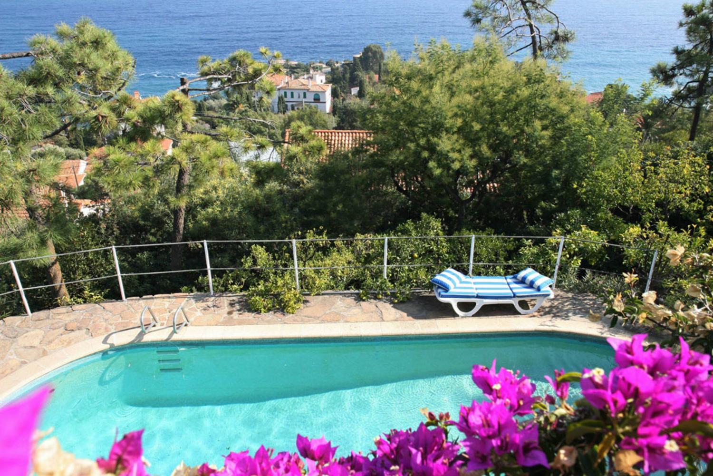 Outdoor Pool 1, L'Oursin, Le Trayas, Cote d'Azur.