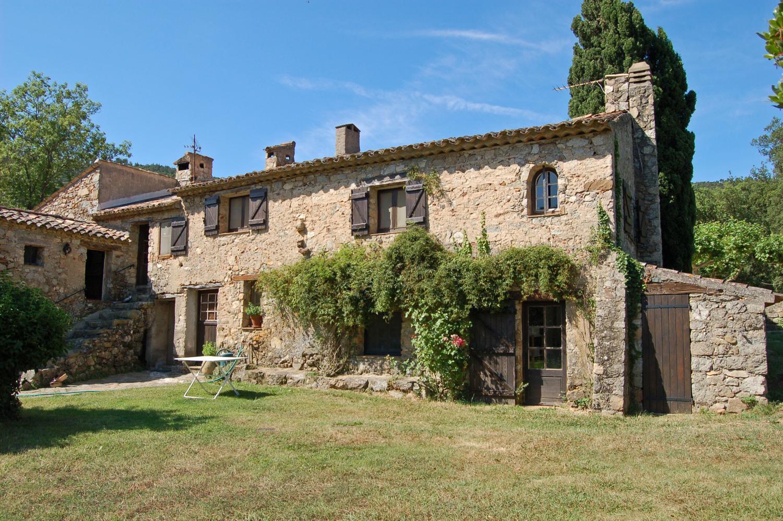 Exterior of the villa, Bastide De La Poesie, St Tropez Var, Plan De La Tour.
