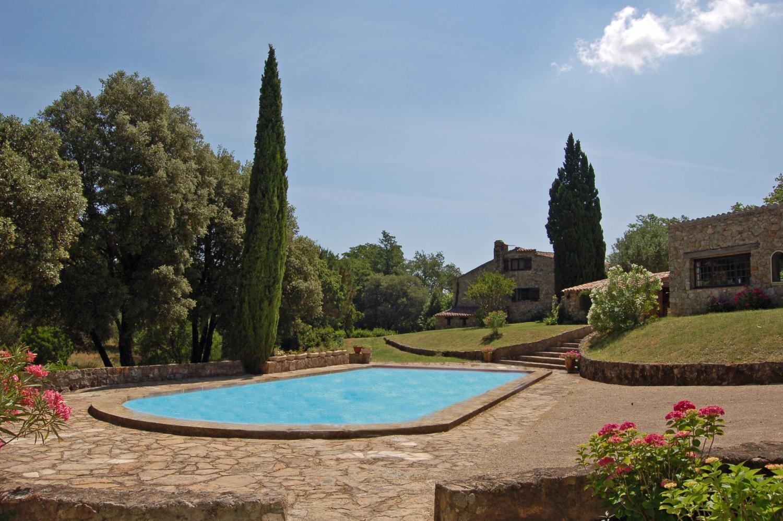 Outdoor pool, Bastide De La Poesie, St Tropez Var, Plan De La Tour.