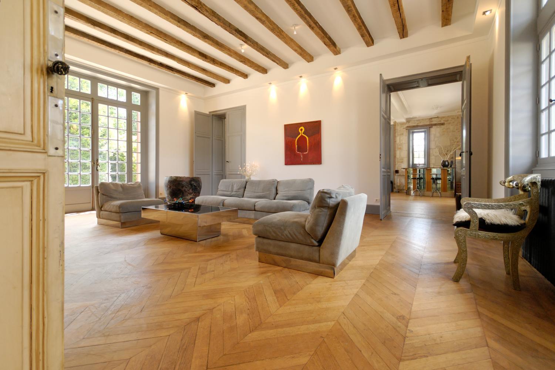 Living Room 1, Chateau de la Couronne, Vendee Charente, Angouleme.