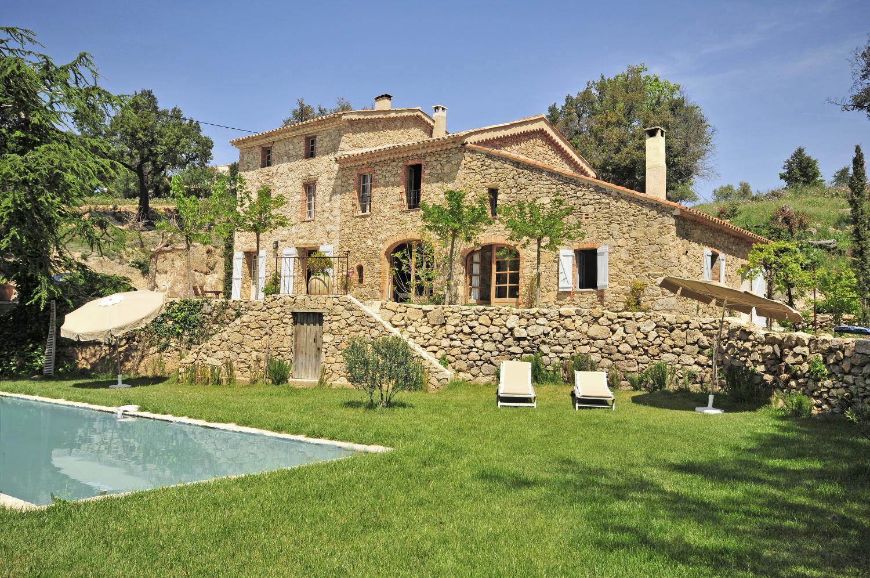 Villa exterior, Bastide Claudine, St Tropez Var, Plan De La Tour.