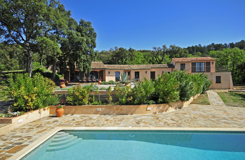 Villa Exterior 2, La Biche au Bois, La Garde-Freinet, St Tropez Var.