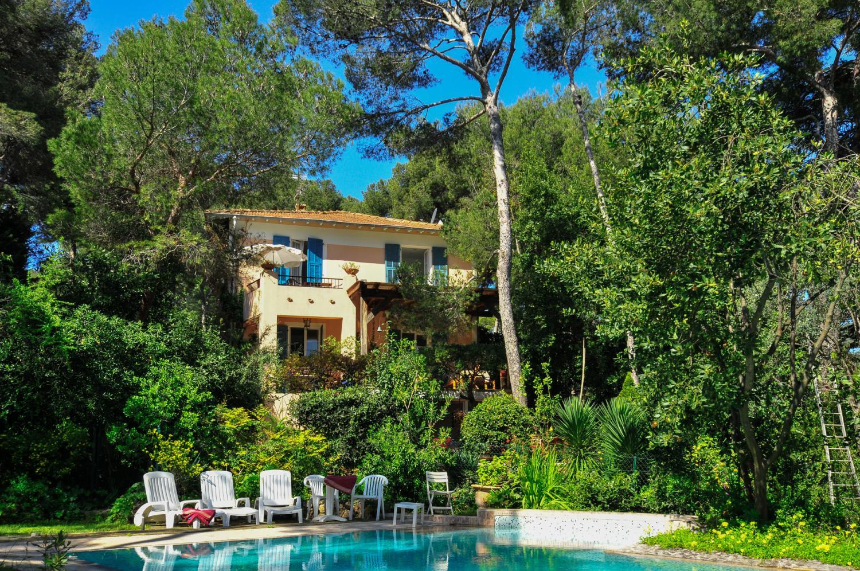 Villa with pool in St Jean Cape Ferrat, Cote d'Azur