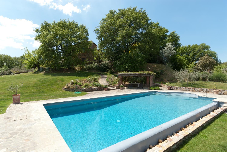 Outdoor Pool 1, Collina Degli Ulivi, Arezzo, Tuscany.