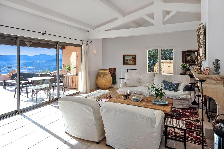 Living Room, La Comtesse, Grimaud, St Tropez Var.