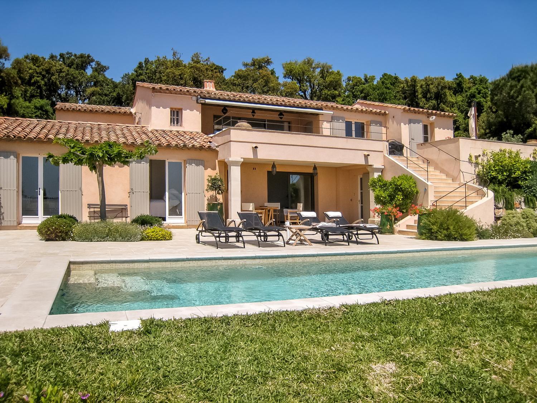 Villa Exterior, La Comtesse, Grimaud, St Tropez Var.