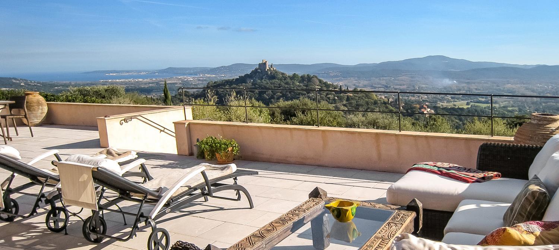 Outdoor Seating Area, La Comtesse, Grimaud, St Tropez Var.
