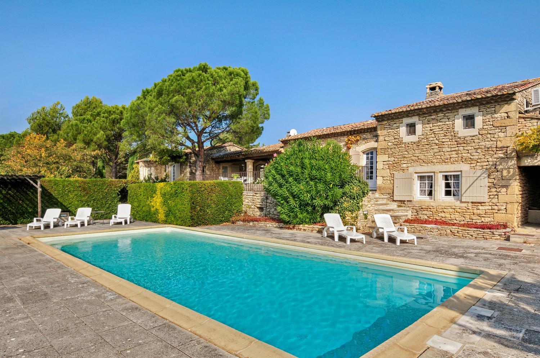 Outdoor Pool, Fleur de Gordes, Gordes, Provence.