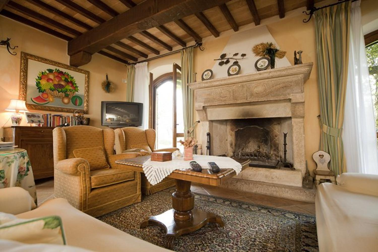 Living Room, Lampone, Collazzone, Umbria.