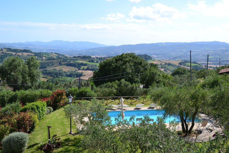 Villa Views 2, Fragolino, Collazzone, Umbria.