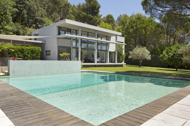 Pool 2, Le Clocher, Cadenet, Luberon National Park, Provence.