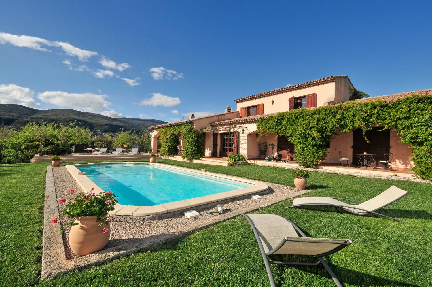 charming villa Plascassier with private pool