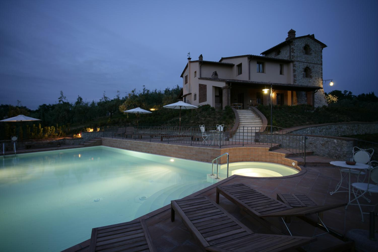 Rental Chianti villa traditional