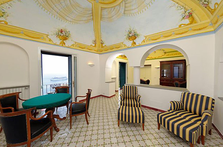 Open Living Room, Il Delfino, Atrani, Amalfi Coast Campania.